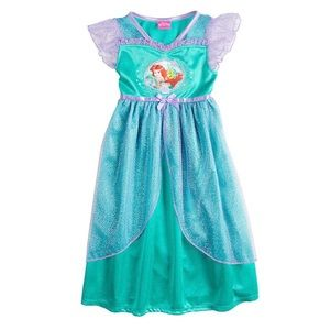DISNEY | Ariel Toddler Girl Fantasy Nightgown